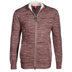 S.OLIVER Strickjacke bordeaux
