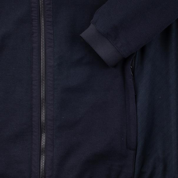 S.OLIVER Strickjacke dunkelblau
