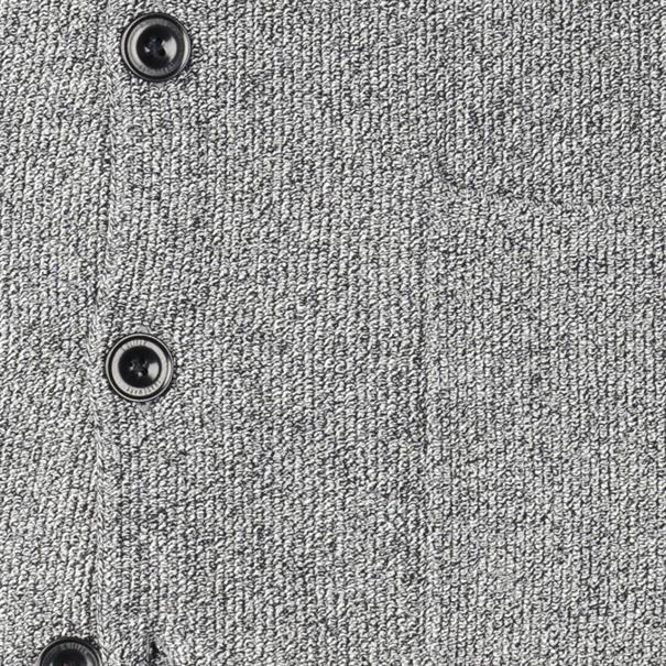 S.OLIVER Strickweste grau