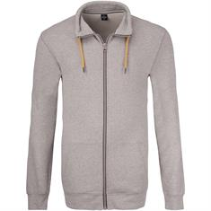 S.OLIVER Sweatjacke EXTRA lang grau