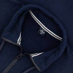 S.OLIVER Sweatjacke EXTRA lang marine