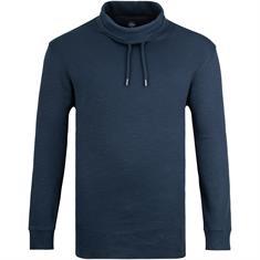 S.OLIVER Sweatshirt blau-meliert