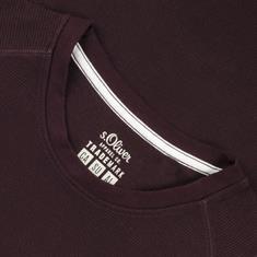 S.OLIVER Sweatshirt bordeaux