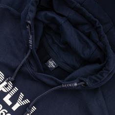 S.OLIVER Sweatshirt EXTRA lang blau