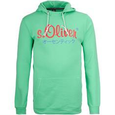 S.OLIVER Sweatshirt - EXTRA lang grün