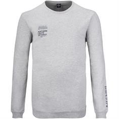 S.OLIVER Sweatshirt - EXTRA lang grau