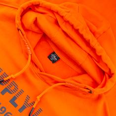 S.OLIVER Sweatshirt EXTRA lang orange