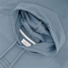 S.OLIVER Sweatshirt - EXTRA lang petrol