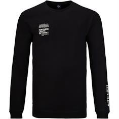 S.OLIVER Sweatshirt - EXTRA lang schwarz