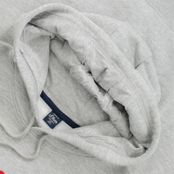 S.OLIVER Sweatshirt grau