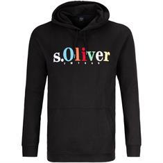 S.OLIVER Sweatshirt schwarz