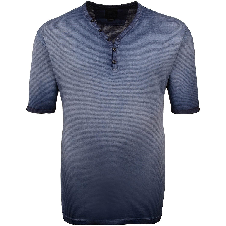 82be6f62a9b58 S.OLIVER T-Shirt blau Herrenmode in Übergrößen kaufen