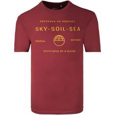 S.OLIVER T-Shirt bordeaux