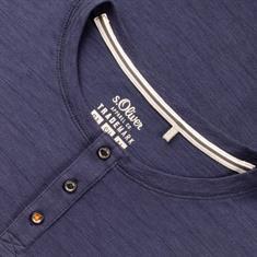 S.OLIVER T-Shirt dunkelblau