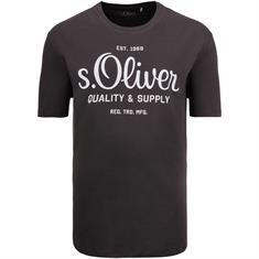 S.OLIVER T-Shirt dunkelgrau