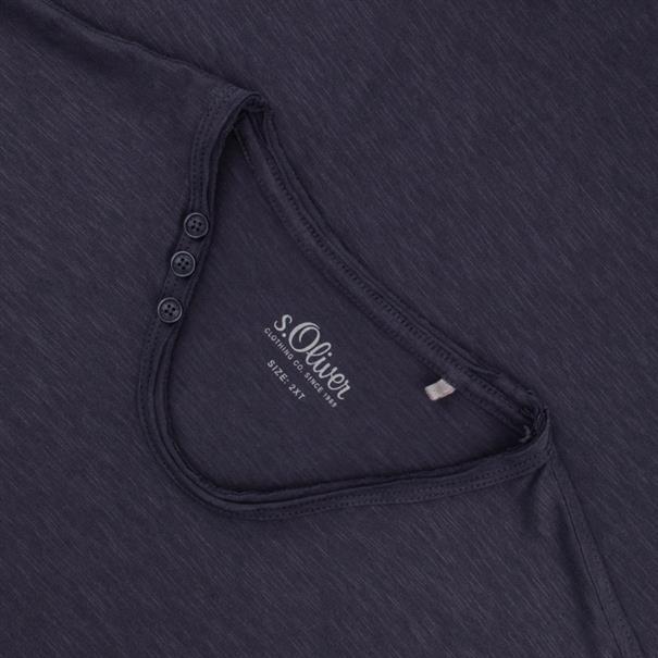 S.OLIVER T-Shirt EXTRA lang anthrazit