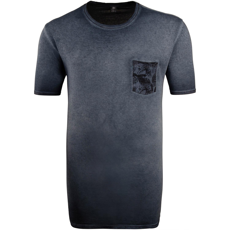 S.OLIVER T Shirt EXTRA lang blau