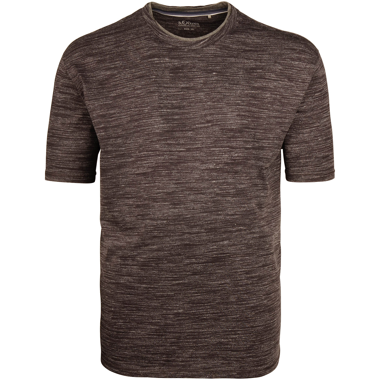 76bc1257b17d8c S.OLIVER T-Shirt grau-meliert