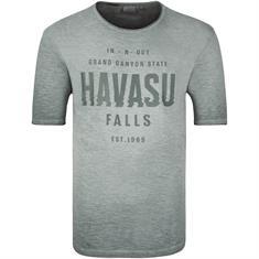 S.OLIVER T-Shirt grau-meliert
