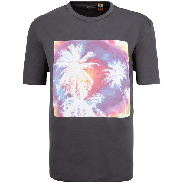 S.OLIVER T-Shirt grau