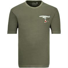 S.OLIVER T-Shirt oliv