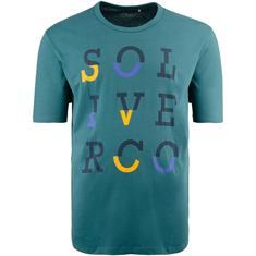 S.OLIVER T-Shirt petrol