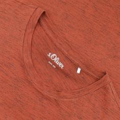 S.OLIVER T-Shirt rostbraun