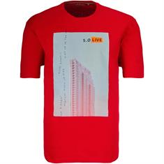 S. OLIVER T-Shirt rot