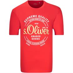 S.OLIVER T-Shirt rot