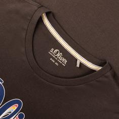 S.OLIVER T-Shirt schwarz