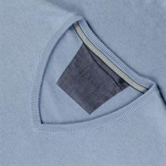 S.OLIVER V-Pullover hellblau