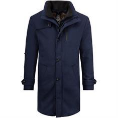 S.OLIVER Woll-Mix-Mantel blau