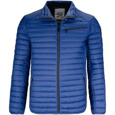 S4 Steppjacke royal-blau