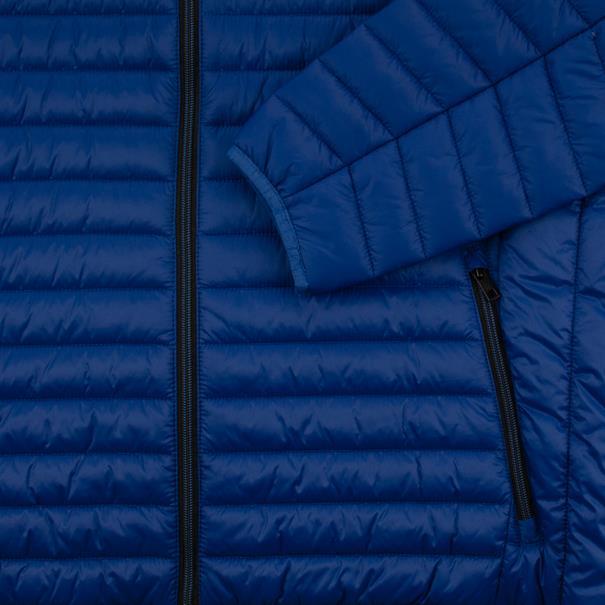 S4 Steppjacke royal-blau