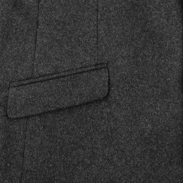 S4 Wollmantel grau