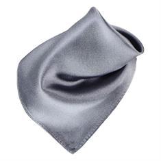 SEIDENFALTER Einstecktuch grau