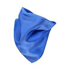 SEIDENFALTER Einstecktuch royal-blau