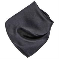SEIDENFALTER Einstecktuch schwarz