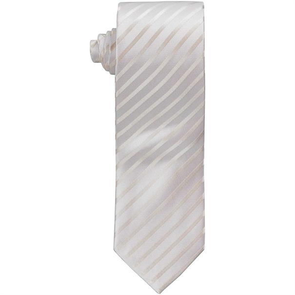 SEIDENFALTER Krawatte creme