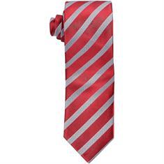 SEIDENFALTER Krawatte dunkelrot