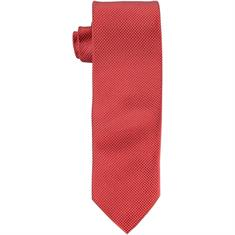SEIDENFALTER Krawatte hellrot