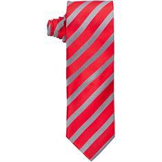 SEIDENFALTER Krawatte rot