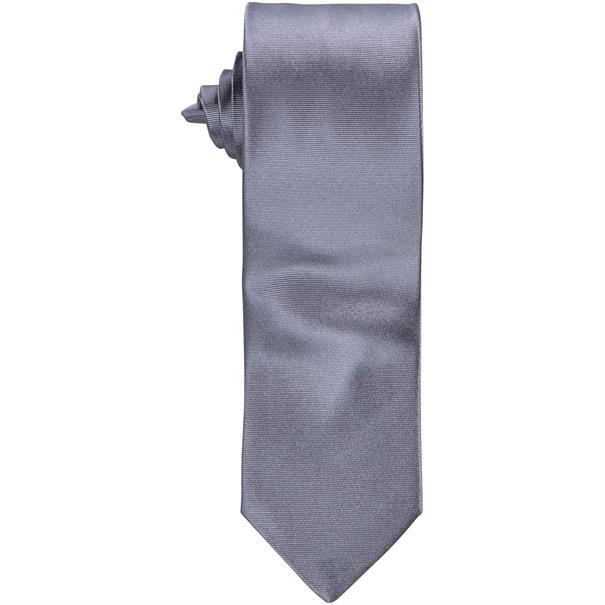 SEIDENFALTER Krawatte silber