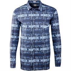 SIGNUM Freizeithemd - Modern Fit blau