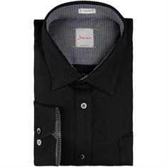 SIGNUM Freizeithemd schwarz
