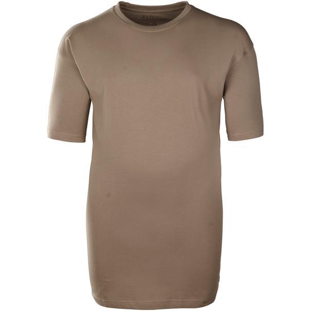 SYLT Basic T-Shirt braun