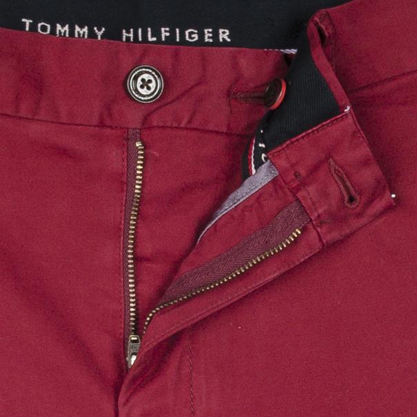 TOMMY HILFIGER Chinohose rot