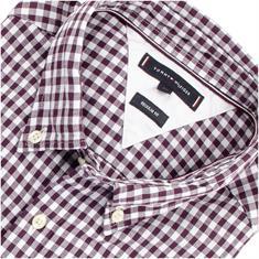 TOMMY HILFIGER Freizeithemd bordeaux