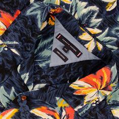 TOMMY HILFIGER halbarm Freizeithemd dunkelblau