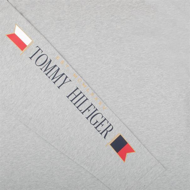 TOMMY HILFIGER Langarmshirt grau